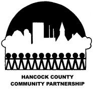 Hancock County Community Partnership Logo